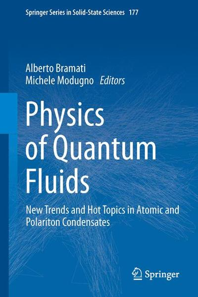 Physics of Quantum Fluids | Dodax.ch
