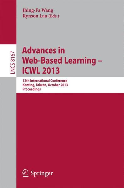 Advances in Web-Based Learning -- ICWL 2013 | Dodax.ch