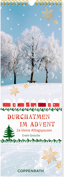 Streifenkalender – Durchatmen im Advent | Dodax.co.uk