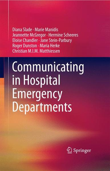 Communicating in Hospital Emergency Departments   Dodax.ch