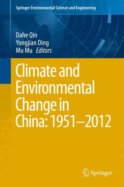 Climate and Environmental Change in China: 1951-2012   Dodax.ch