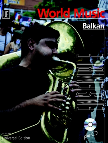 Balkan für Ensemble, in variabler Besetzung ( 2 Melodieinstrumente (C,B, Es), Akkordeon, Gitarre, Klavier, Bass (Kontrabass/E-Bass), Percussion, m. Audio-CD | Dodax.at