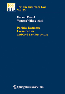 Punitive Damages: Common Law and Civil Law Perspectives | Dodax.at