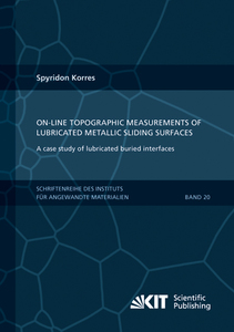On-Line Topographic Measurements of Lubricated Metallic Sliding Surfaces | Dodax.at