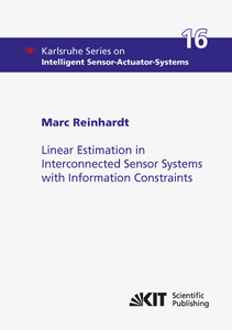 Linear Estimation in Interconnected Sensor Systems with Information Constraints | Dodax.ch