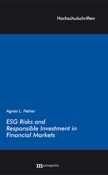 ESG Risks and Responsible Investment in Financial Markets | Dodax.ch