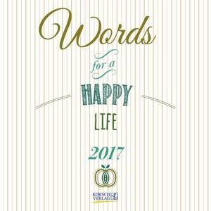 Words for a happy life 2017   Dodax.ch
