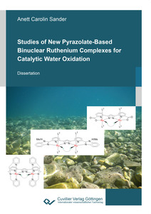 Studies of New Pyrazolate-Based Binuclear Ruthenium Complexes for Catalytic Water Oxidation | Dodax.ch