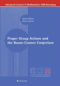 Proper Group Actions and the Baum-Connes Conjecture   Dodax.ch