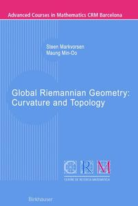 Global Riemannian Geometry: Curvature and Topology | Dodax.at