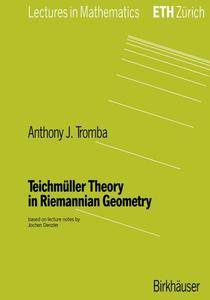 Teichmüller Theory in Riemannian Geometry | Dodax.pl