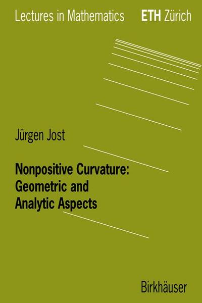 Nonpositive Curvature: Geometric and Analytic Aspects | Dodax.de