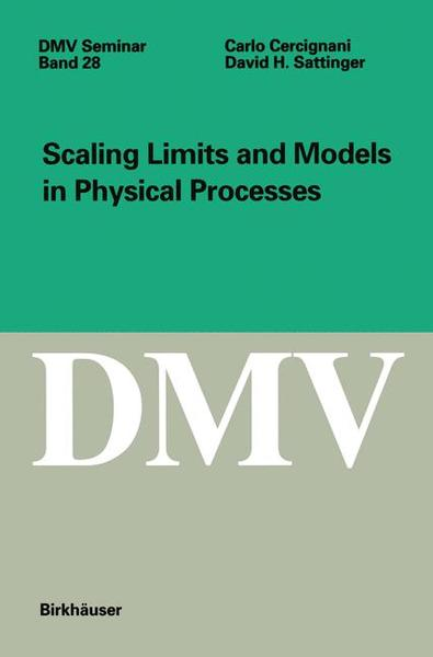 Scaling Limits and Models in Physical Processes | Dodax.at