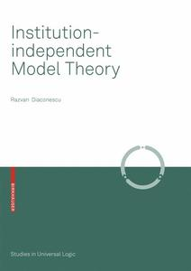 Institution-independent Model Theory | Dodax.ch