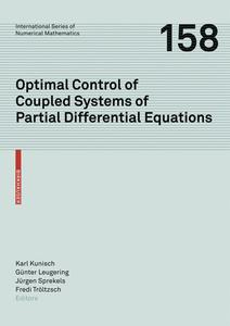 Optimal Control of Coupled Systems of Partial Differential Equations | Dodax.ch