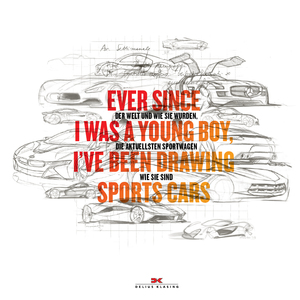 Ever since I was a young boy I ve been drawing Sports Cars | Dodax.at