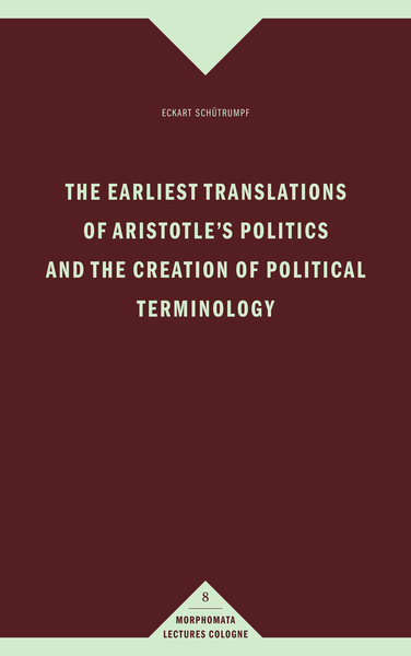 The earliest translations of Aristotle's Politics and the creation of political terminology | Dodax.at