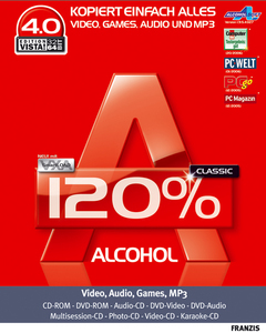 Alcohol 120% 4.0 Classic | Dodax.at