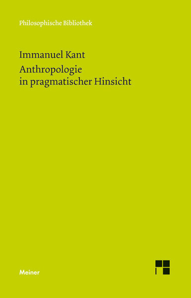 Anthropologie in pragmatischer Hinsicht | Dodax.at