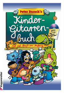 Peter Bursch's Kinder-Gitarrenbuch, m. Audio-CD | Dodax.ch