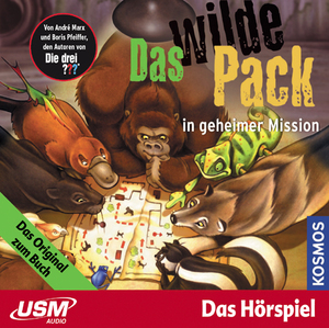 Das wilde Pack in geheimer Mission, 1 Audio-CD | Dodax.ch