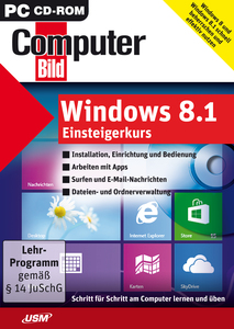 Windows 8.1 Einsteigerkurs, CD-ROM | Dodax.ch