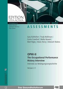OPHI-II. The Occupational Performance History Interview (Version 2.1) | Dodax.ch