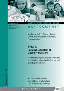 PEDI-D - Pediatric Evaluation of Disability Inventory | Dodax.at