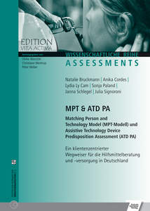 MPT & ATD PA Matching Person and Technology Model (MPT-Modell) und Assistive Technology Device Predisposition Assessment (ATD PA) | Dodax.at