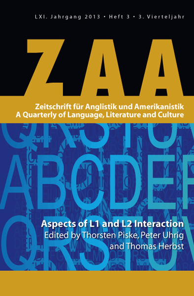 Aspects of L1 and L2 Interaction | Dodax.ch