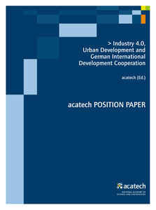 Industry 4.0, Urban Development and German International Development Cooperation | Dodax.at