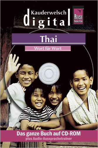 Reise Know-How Kauderwelsch DIGITAL Thai - Wort für Wort, CD-ROM | Dodax.ch