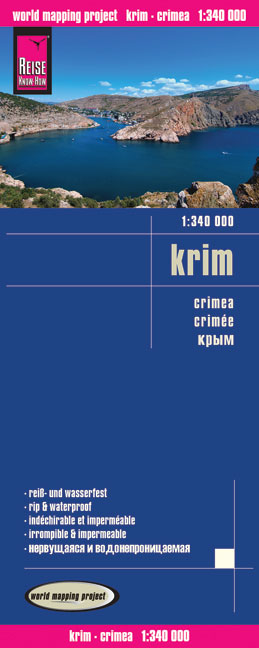World Mapping Project Reise Know-How Landkarte Krim (1:340.000). Crimea. Crimee | Dodax.ch