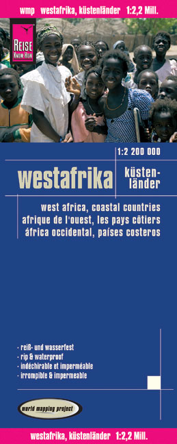 World Mapping Project Westafrika. West Africa. Afrique de l' ouest. África occidental | Dodax.at