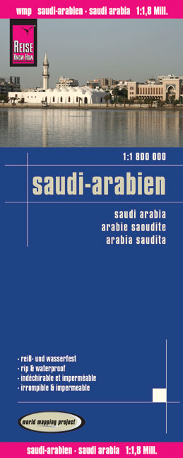 World Mapping Project Reise Know-How Landkarte Saudi-Arabien (1:1.800.000). Saudi Arabia. Arabie Saoudite; Arabia Saudita | Dodax.ch