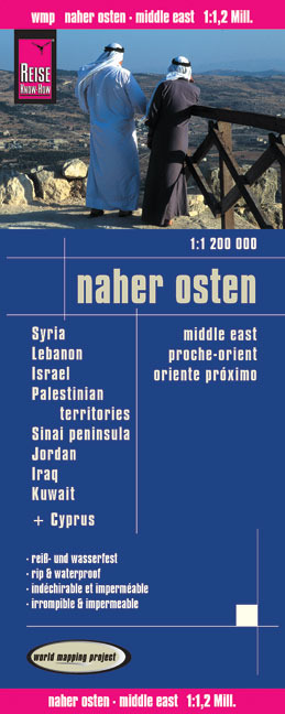 World Mapping Project Naher Osten. Middle East. Proche Orient. Oriente próximo | Dodax.at