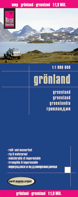 World Mapping Project Grönland. Greenland. Groenlandia | Dodax.at