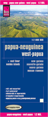 World Mapping Project Papua-Neuguinea, West-Papua. New Guinea. Nouvelle-Guinée. Nueva Guinea | Dodax.at