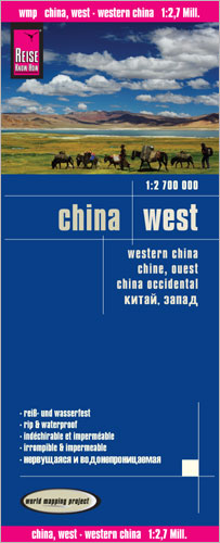 World Mapping Project China, West. Western China. Chine, ouest. China occidental | Dodax.ch