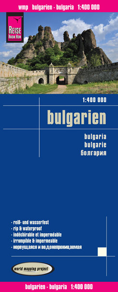 World Mapping Project Reise Know-How Landkarte Bulgarien (1:400.000). Bulgaria. Bulgarie | Dodax.at