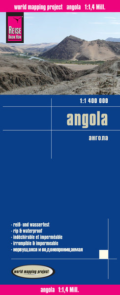 World Mapping Project Reise Know-How Landkarte Angola (1:1.400.000) | Dodax.at