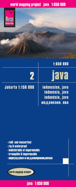 World Mapping Project Reise Know-How Landkarte Java (1:650.000) | Dodax.at