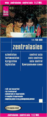 World Mapping Project Reise Know-How Landkarte Zentralasien (1:1.700.000). Central Asia; Asie centrale; Asia central | Dodax.ch
