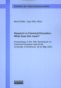 Research in Chemical Education - What does this mean? | Dodax.ch