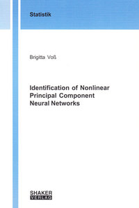 Identification of Nonlinear Principal Component Neural Networks | Dodax.ch