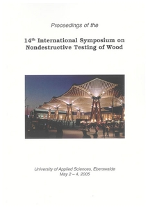 14th International Symposium on Nondestructive Testing of Wood | Dodax.ch