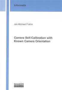 Camera Self-Calibration with Known Camera Orientation | Dodax.ch