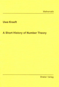A Short History of Number Theory | Dodax.ch