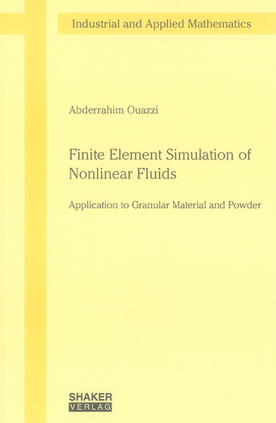 Finite Element Simulation of Nonlinear Fluids | Dodax.ch