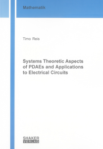 Systems Theoretic Aspects of PDAEs and Applications to Electrical Circuits | Dodax.ch